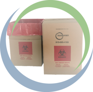 Wellbeing Midwest Medical Waste Disposal Boxes