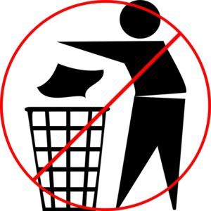 Medical Waste is not for trash can